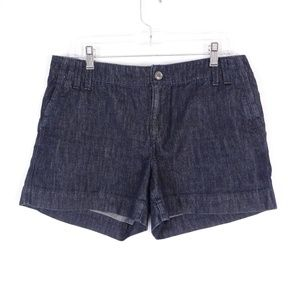 LOFT Jean Shorts Women's Size 8 - Dark Wash Blue